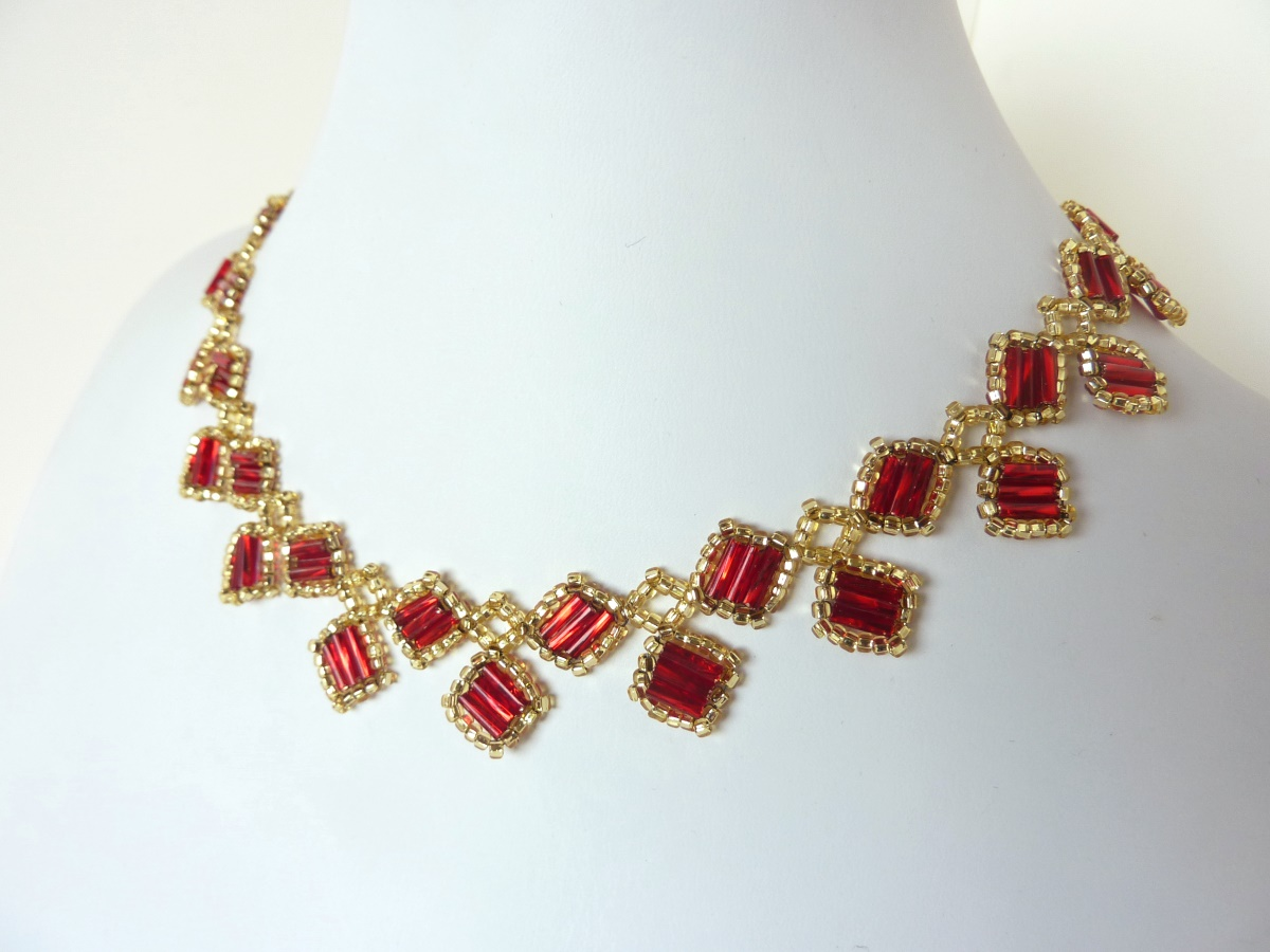 FREE beading pattern: Alexia Necklace