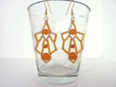 Bugle Deco Earrings