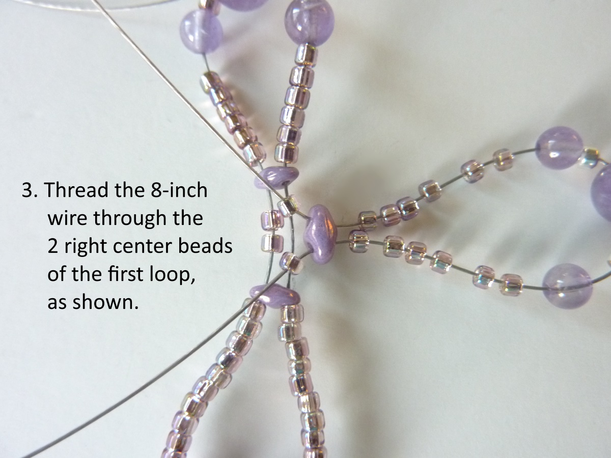 Wire Loop Cross: step 3