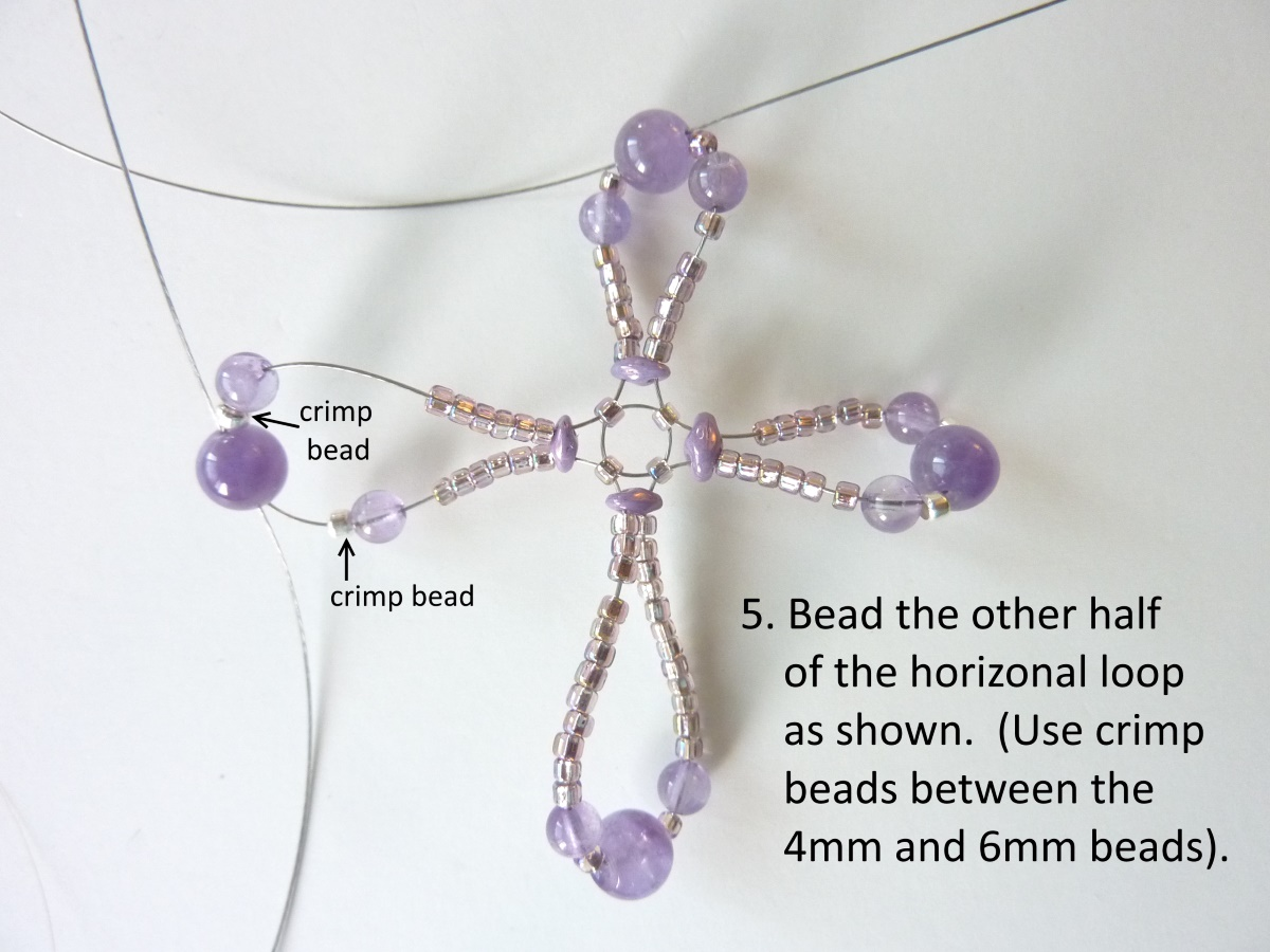 Wire Loop Cross: step 5