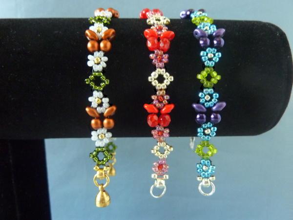 Beads and Butterflies Bracelet